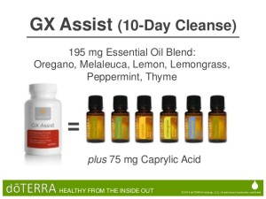 GX Assist 10 Day cleanse doterra image