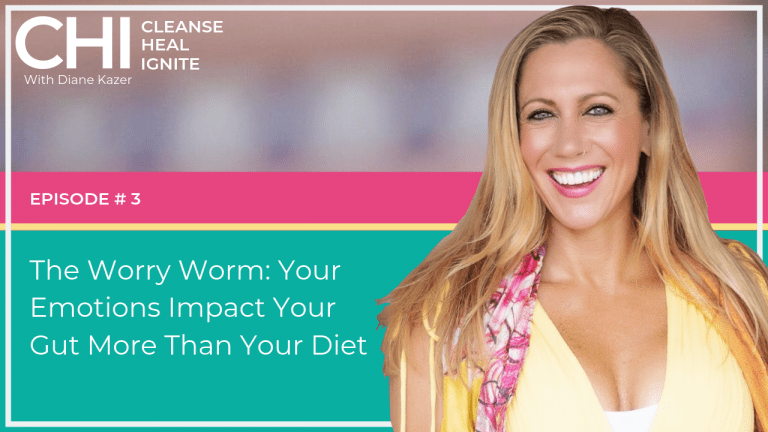 Cleanse Heal Ignite 3. The Worry Worm - Your Emotions Impact your Gut more than your Diet