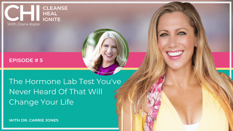 Cleanse Heal Ignite 5. The Hormone Lab Test You've Never Heard Of That Will Change Your Life w/ Dr. Carrie Jones
